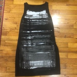 The Limited Abstract Black and White Dress